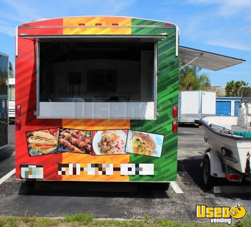 Haul Kitchen Food Trailer Propane Tank Florida for Sale - 5