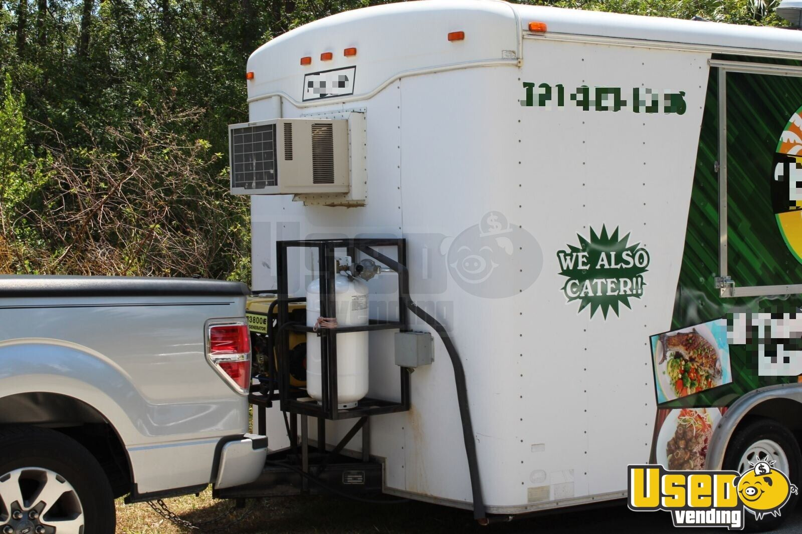 Haul Kitchen Food Trailer Removable Trailer Hitch Florida for Sale - 4