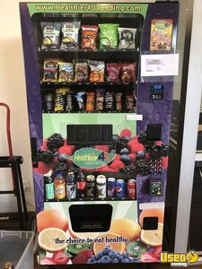 Used 2014 Healthier 4U Healthy Combo Snack & Drink Vending Machines for Sale in California!