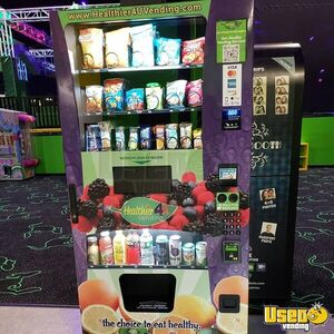 2019 Healthier 4 U Electronic Healthy Snack & Drink Combo Vending Machines for Sale in Maryland!