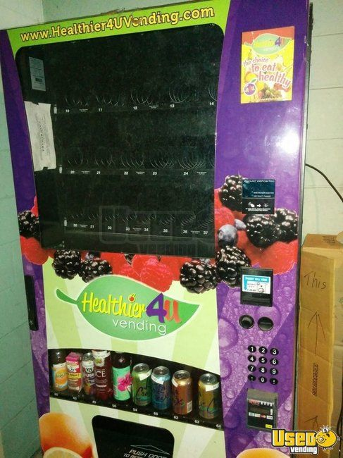 2013 Healthier4U Combo Healthy Vending Machines for Sale in Florida!!!