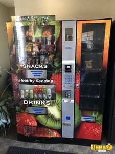 Used 2013 Seaga HY900 Healthy You Combo Snack & Drink Vending Machine for Sale in Florida!