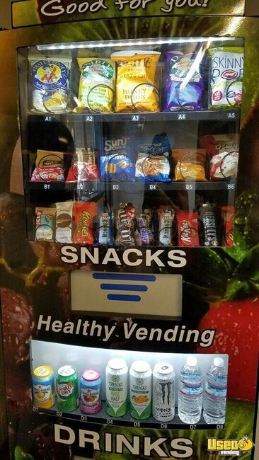 Healthy You Vending Combo Florida for Sale