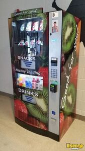 (3) 2016 HY900 Seaga Healthy You Combo Snack & Drink Vending Machines for Sale in North Carolina!