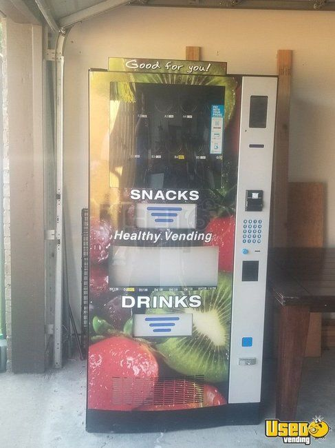 HY900 Healthy You Combo Snack & Drink Healthy Vending Machine for Sale in Texas!