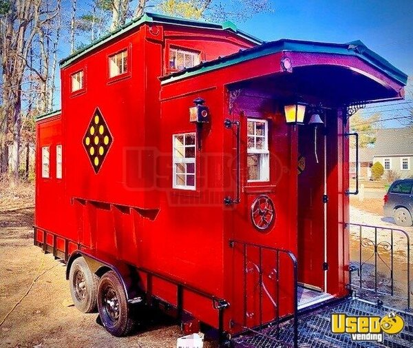 Historically Influenced Reproduction Caboose Other Mobile Business Massachusetts for Sale