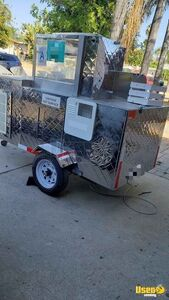 Hot Dog Concession Cart Food Cart Refrigeration California for Sale