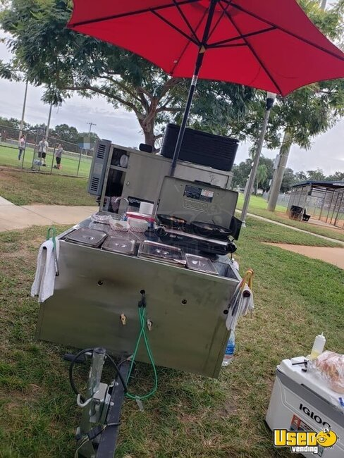 Hot Dog Food Vending Concession Cart Food Cart Florida for Sale