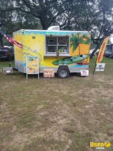 Turnkey 2018 7'x 12' Soft Serve Ice Cream Trailer / Mobile Ice Cream Business  for Sale in Florida!