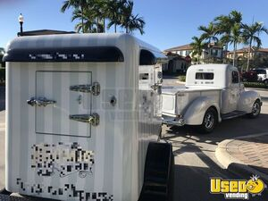 2018 12' Mobile Ice Cream Business Cold Plate Freezer Trailer for Sale in Florida!
