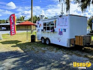 2015 - 8' x 16' Food Concession Trailer for Sale in Florida!!!