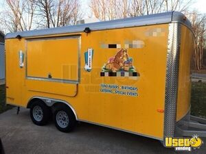 Used Turnkey 2015 8' x 16' Cargo Craft Expedition Ice Cream Concession Trailer for Sale in Michigan!