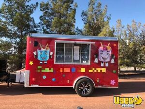 2018-6' x 12' Ice Cream Concession Trailer with 2019 Kitchen for Sale in Nevada!