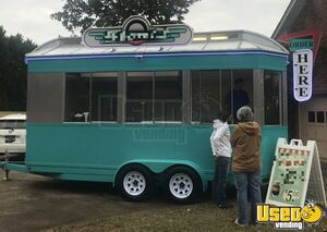 2015 - 8' x 18' Custom Ice Cream Concession Trailer for Sale in North Carolina!!