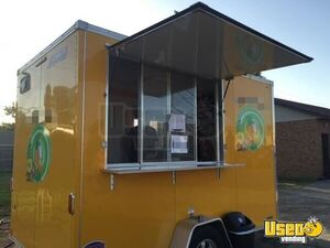 2016 - 7' x 12' United Trailers Mobile Ice Cream Business / Soft Serve Trailer for Sale in Oklahoma!