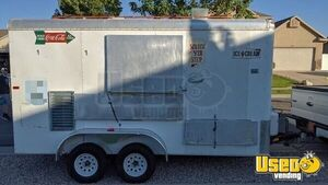 2007 - 7' x 16' Soft Serve/Ice Cream Food Concession Trailer for Sale in Utah!!!