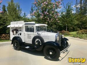 Fully Restored Vintage 1931 - Ford Model A Ice Cream Truck for Sale in Florida!