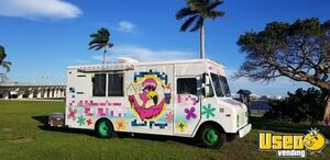 Turnkey Diesel Chevy P-30 Step Van Mobile Ice Cream Business Soft Serve Truck for Sale in Florida!