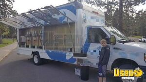 Self-Serving 2008 Ford E-350 Ice Cream Truck / Used Mobile Frozen Yogurt Shop for Sale in Oregon!