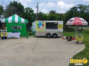 2018 - 7' x 12' Turnkey Italian Ice Concession Trailer for Sale in Texas!!!