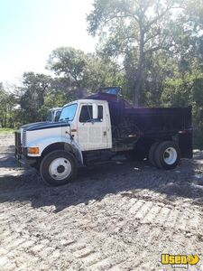 Ready for Business 1993 International 4300 Single Axle Dump Truck for Sale in Texas!