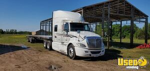 2010 International Prostar Sleeper Semi Truck with a 2018 Reitnouer 53' Trailer for Sale in Alabama!