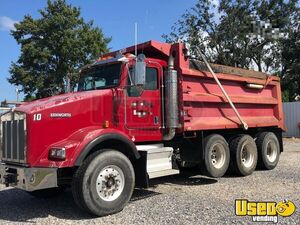 Used 2006 Kenworth T800 Dump Truck 430hp Cat C13 Eaton 8LL for Sale in Louisiana!