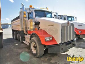 2009 Kenworth T800 Dump Truck with Dual Exhaust Paccar Engine for Sale in Oregon!