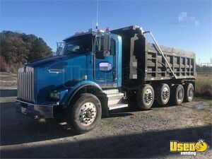 2005 Kenworth T800 Quad-Axle Dump Truck Cummins ISL 8-Speed for Sale in Virginia!