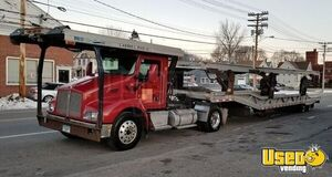 2007 Kenworth Day Cab with 2007 Landoll Hauloll 7-Car Hauler Trailer for Sale in Connecticut!