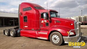2010 Kenworth T660 Sleeper Cab Semi Truck Deleted Cat C15 MT for Sale in Minnesota!