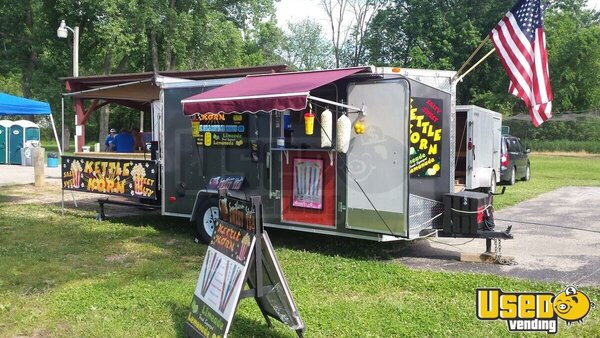 Kettle Corn Concession Trailer Concession Trailer Wisconsin for Sale
