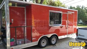 Kitchen Food Concession Trailer Kitchen Food Trailer Exterior Customer Counter Florida for Sale