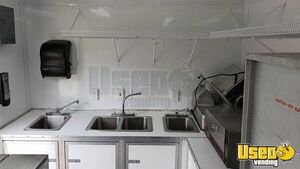 Kitchen Food Concession Trailer Kitchen Food Trailer Hand-washing Sink Indiana for Sale