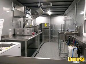 Kitchen Food Concession Trailer Kitchen Food Trailer Refrigerator Florida for Sale
