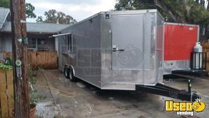 Kitchen Food Concession Trailer Kitchen Food Trailer Surveillance Cameras Florida for Sale