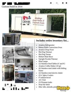 Kitchen Food Concession Trailer Kitchen Food Trailer Triple Sink Indiana for Sale