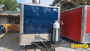 Kitchen Food Concession Trailer Kitchen Food Trailer Upright Freezer Florida for Sale