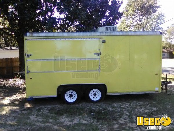 Kitchen Food Trailer Air Conditioning Florida for Sale