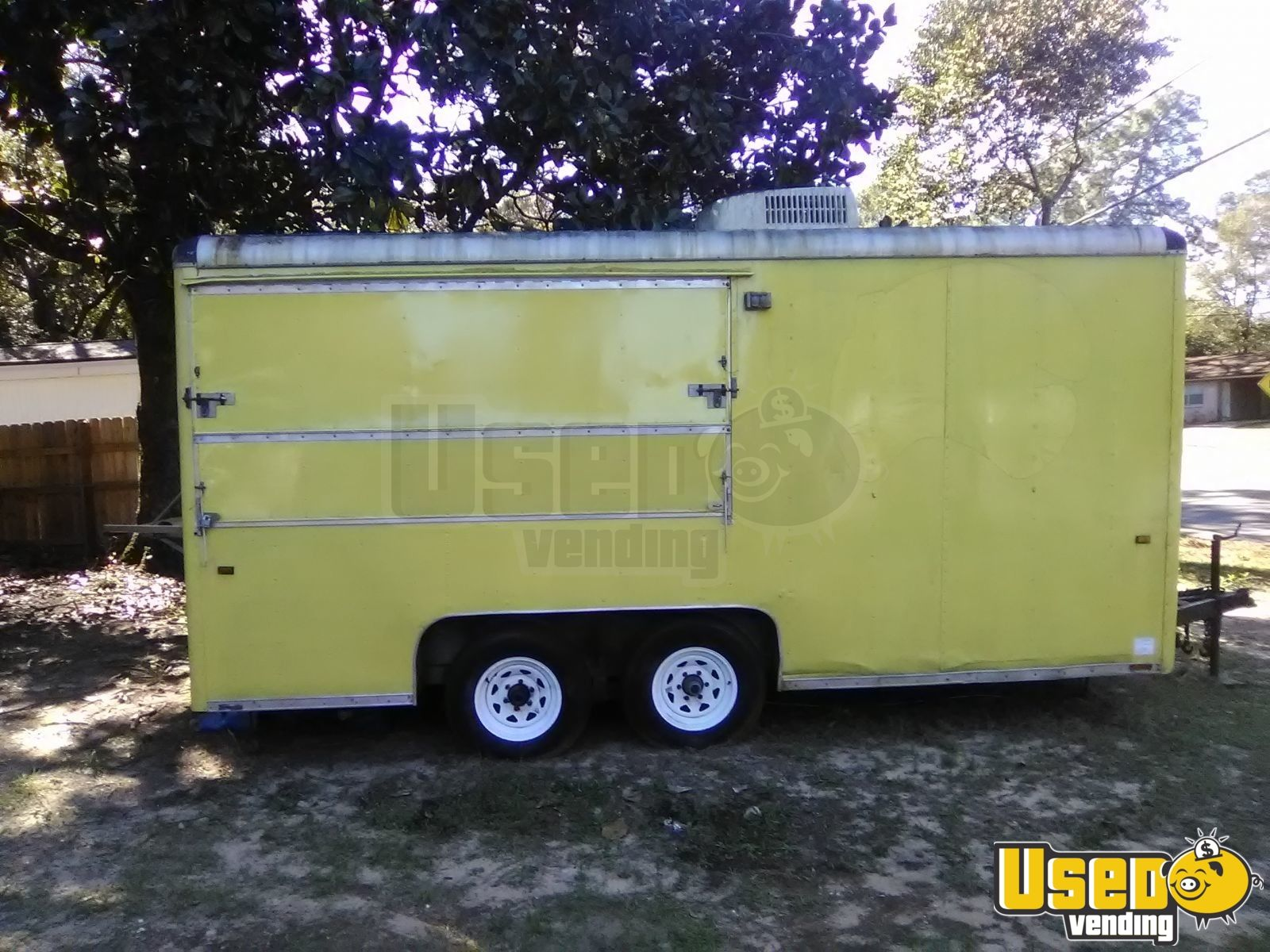 Kitchen Food Trailer Air Conditioning Florida for Sale - 2