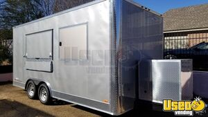 Barely Used 2020 - 8.5' x 18' Freedom Mobile Kitchen Food Concession Trailer for Sale in Alabama!