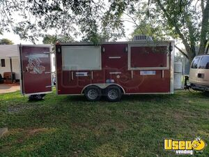 Fully Loaded 2014 - 8.5' x 16' Mobile Kitchen Food Concession Trailer for Sale in Alabama!