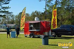 Health Department Approved 2016 Freedom 7' x 16' Food Concession Trailer for Sale in Alabama!