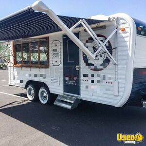 Vintage 1973 - 8' x 20' Yellowstone Camper Concession Trailer w/ 2019 Kitchen for Sale in Arizona!
