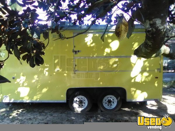 Kitchen Food Trailer Awning Florida for Sale