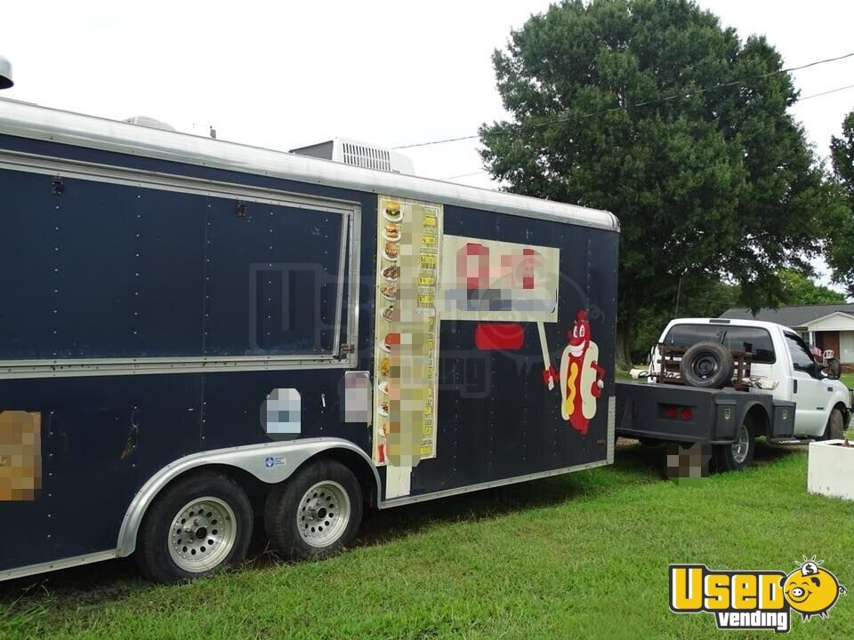 Kitchen Food Trailer Awning North Carolina for Sale - 3