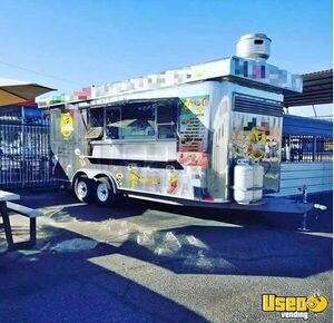 Used 2013 24' Multi-Functional Food Concession Trailer / Mobile Kitchen Unit for Sale in California!