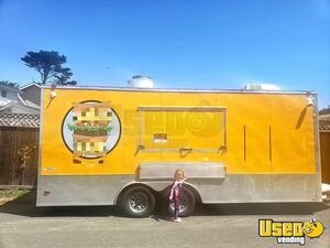 Fully-Loaded 2014 27' Freedom Food Concession Trailer / Mobile Kitchen Unit for Sale in California!