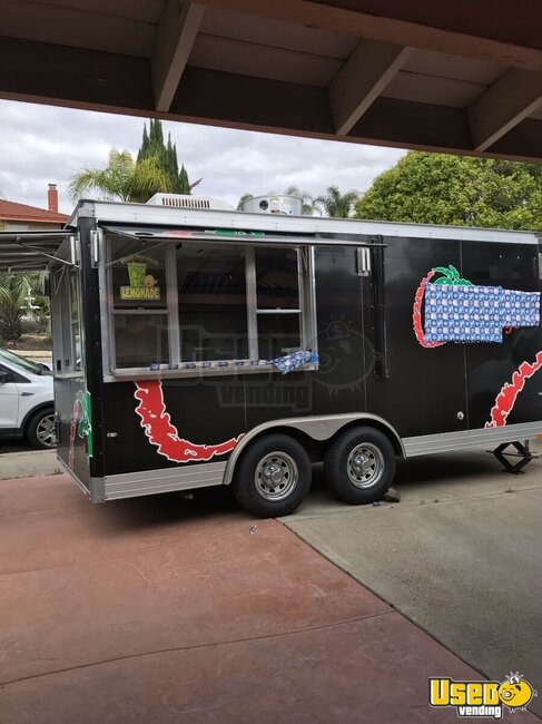 Kitchen Food Trailer California for Sale