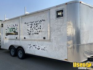2016 - 8.5' x 21' Food Concession Trailer / All Stainless Steel Commercial Mobile Kitchen for Sale in California!